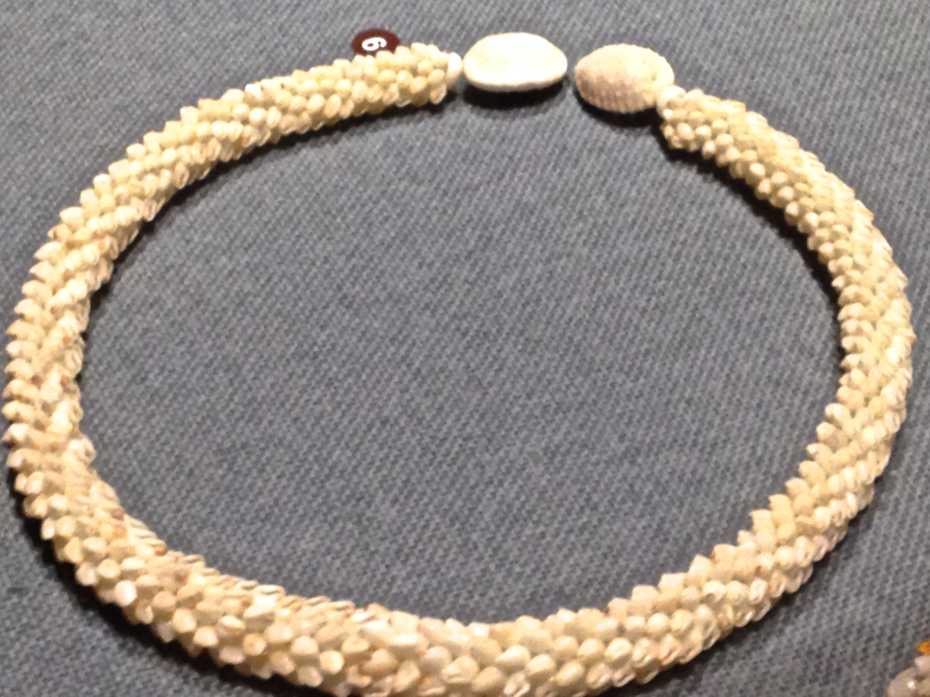 Exhibition Shell Necklace : Niihau shell lei a little bit of this and that